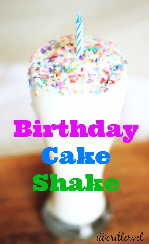 Tastes Sinful But Its Healthy Birthday Cake Protein Shake 21 Day